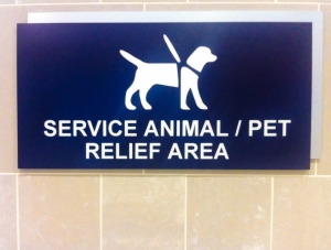 Service Animal/ Pet Relief Area