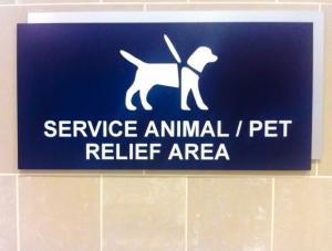 Service Animal/ Pet Relief Area
