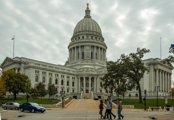 Capitol Building - Madison, Wisconsin