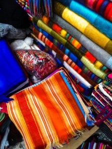 Quito Craft Market - Local Cloth