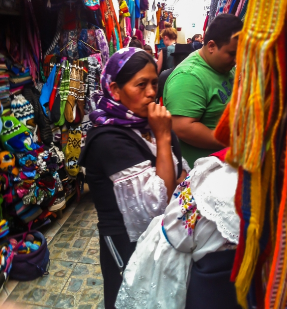 Quito Craft Market Seller 1