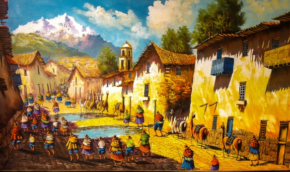Peruvian Country Scene