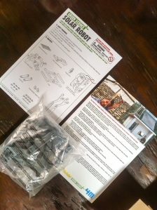 Robot T-Rex Parts & Instructions