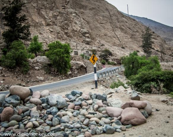 Curving Roadway