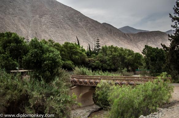 Bridge on the road to Antioquia
