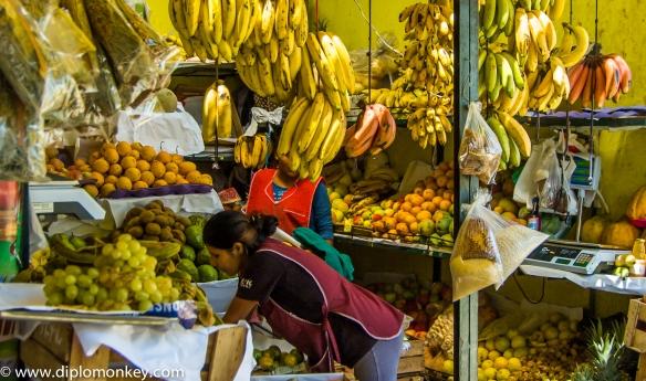 Musa Market Fruit Seller.