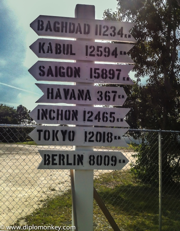 Sign Post - Need One for US Embassy Lima 4208 KM