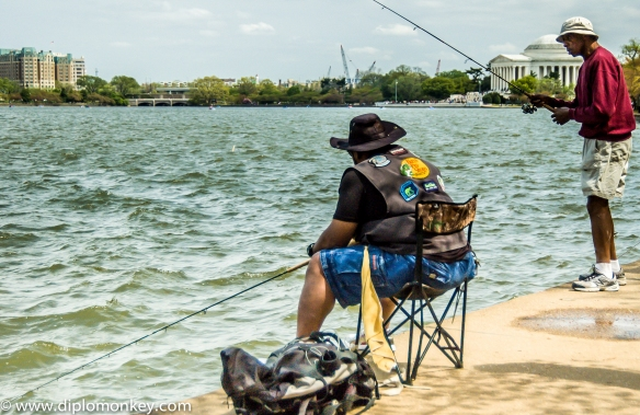 Tidal Basin Fishermen