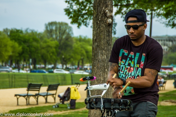 The Percussion King - A Great Street Performer