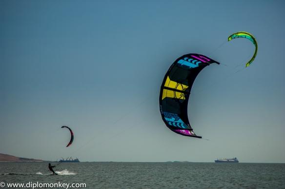 Paracas Kitesurfer.