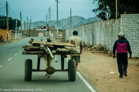Quilmana, Canete Donkey Powered Cart