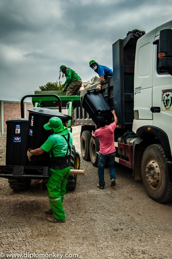 Garbage Collectors in Canete