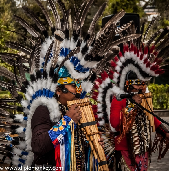 Quito Quena and Pan Flute Players #2.