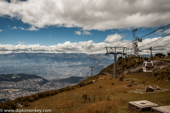 Cable Car to the 4,100 meter mark.