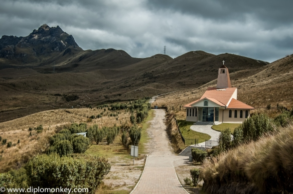 Chapel on the trail up to Ruku Pichincha